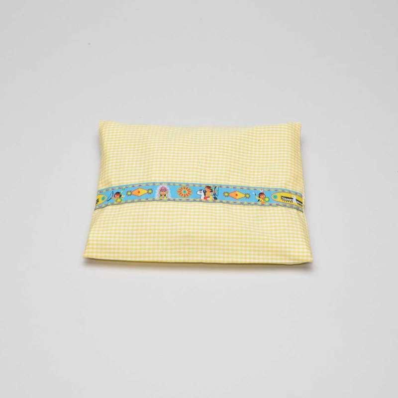 Bauchweh-Kissen gelb Indianer