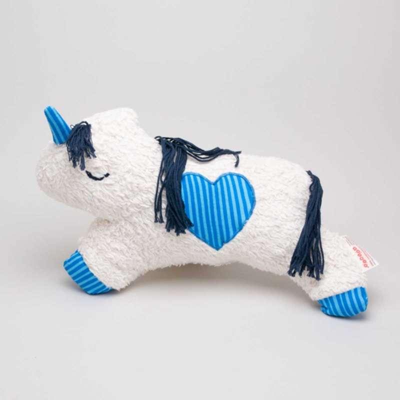 Nelli - das ÖKO-Einhorn -  blau