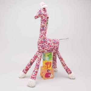 Gisela die Giraffe - pinke...