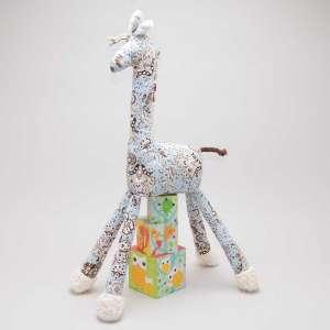 Gisela die Giraffe - Blumen...